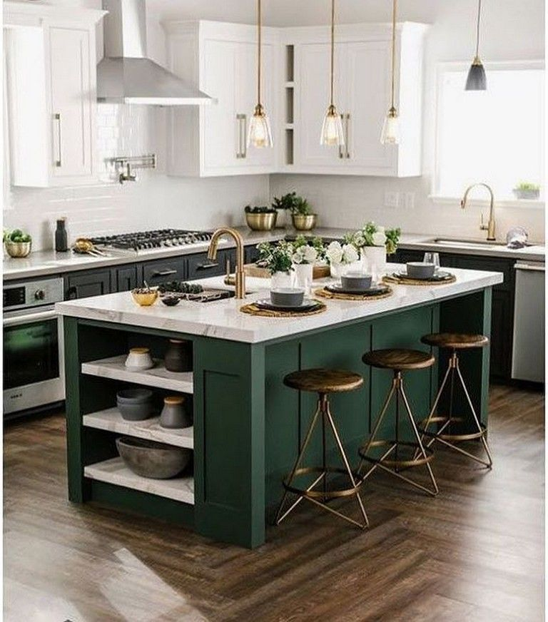 Beautiful Green Kitchen Ideas 1