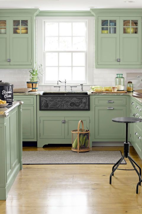 Beautiful Green Kitchen Ideas 15