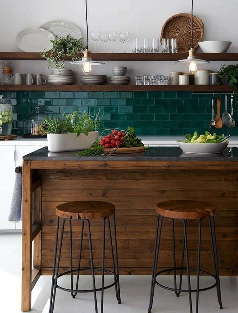 Beautiful Green Kitchen Ideas 23