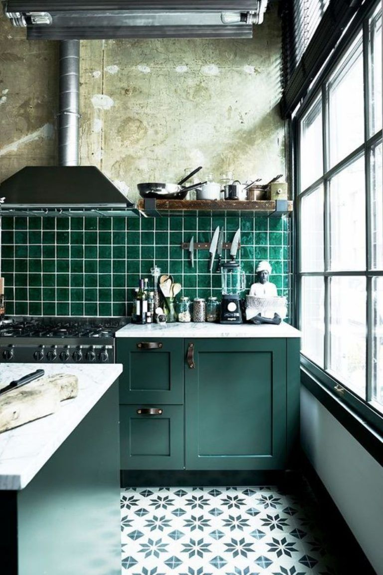 Beautiful Green Kitchen Ideas 30