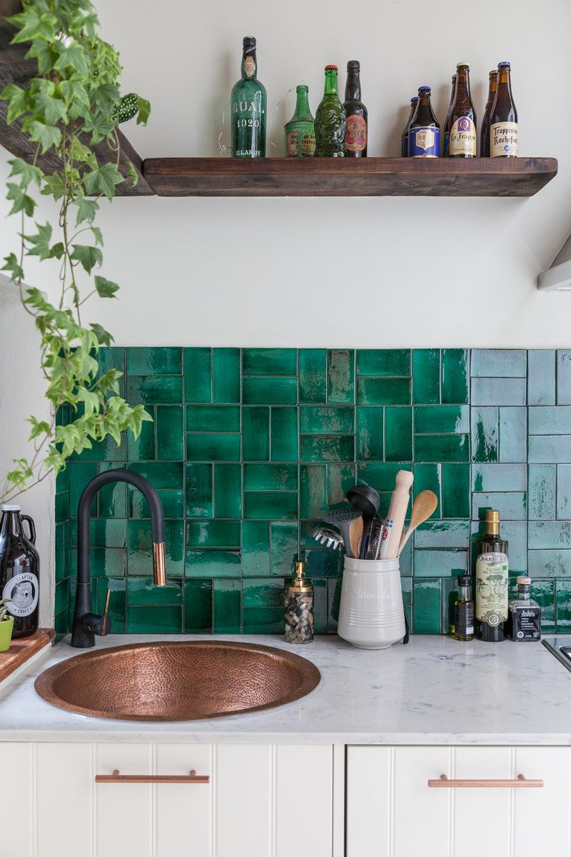 Beautiful Green Kitchen Ideas 33