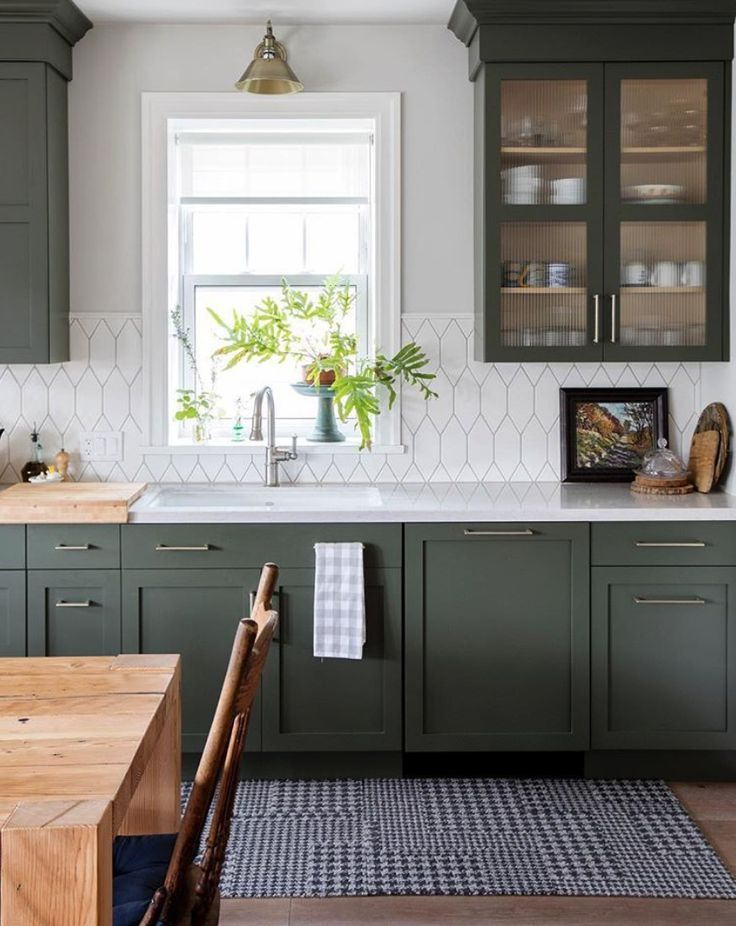 Beautiful Green Kitchen Ideas 37