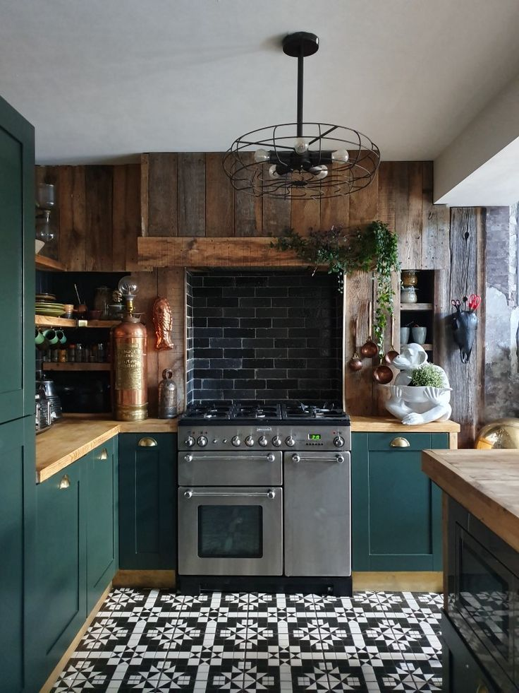 Beautiful Green Kitchen Ideas 41