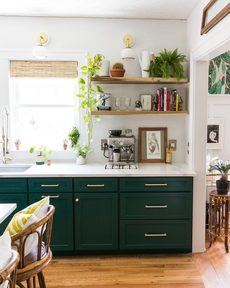 Beautiful Green Kitchen Ideas 45