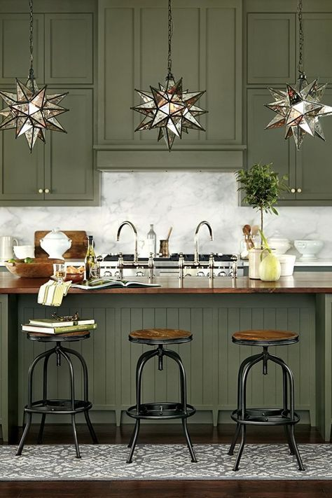 Beautiful Green Kitchen Ideas 46