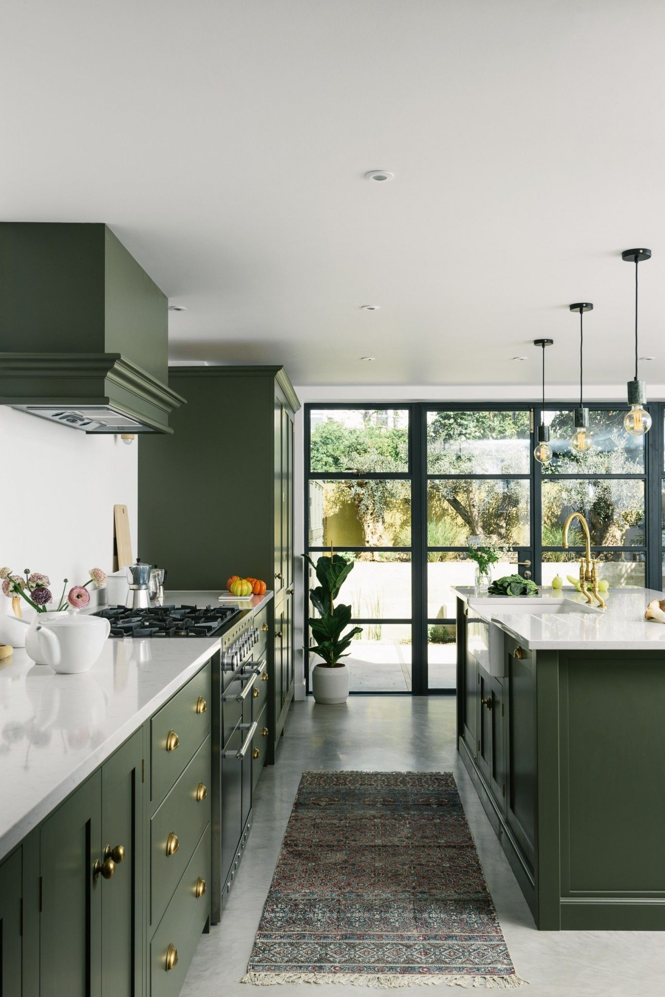 Beautiful Green Kitchen Ideas 6
