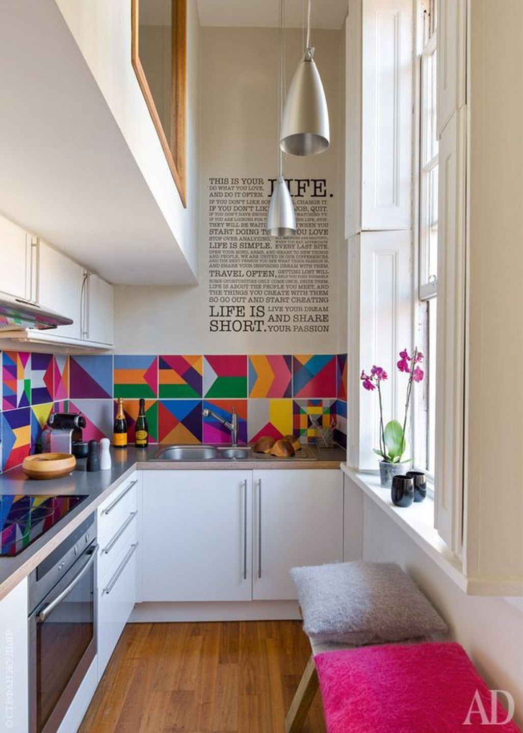 Beautiful and Colourfull Kitchen 026
