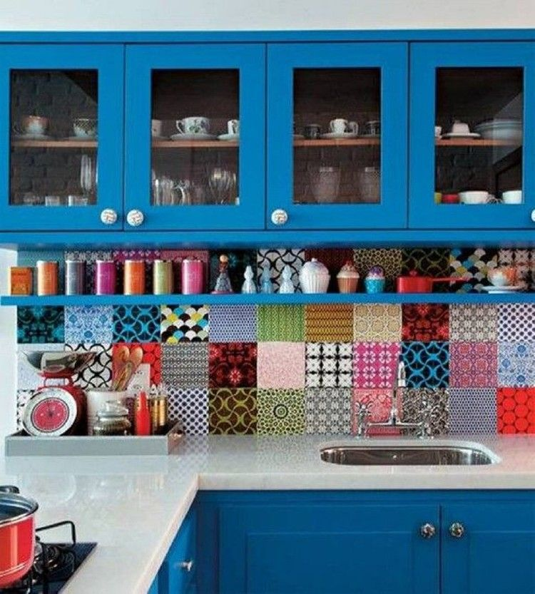 utiful and Colourfull Kitchen 028