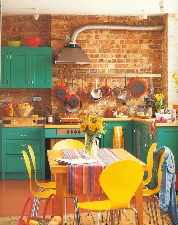 Beautiful and Colourfull Kitchen 034