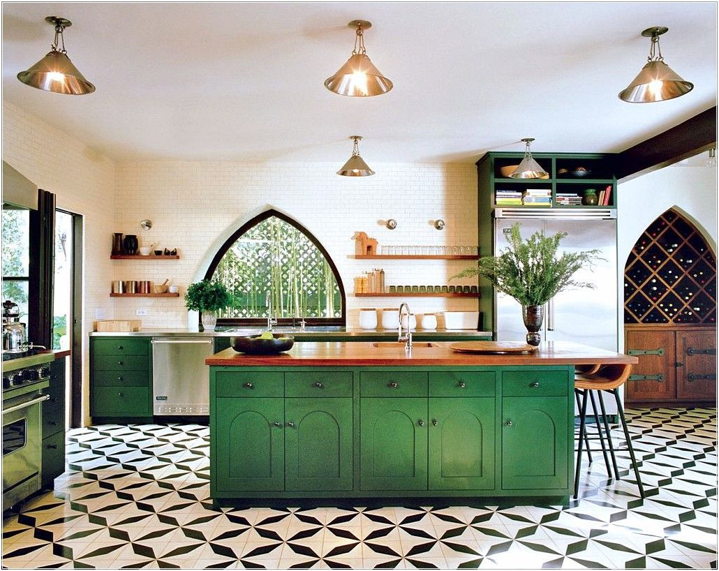 Beautiful and Colourfull Kitchen 038