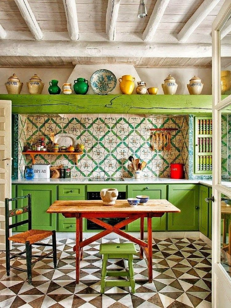 Beautiful and Colourfull Kitchen 03