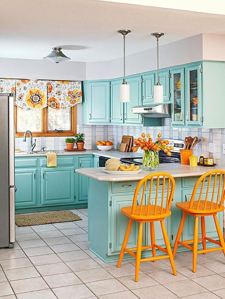 Beautiful and Colourfull Kitchen 040