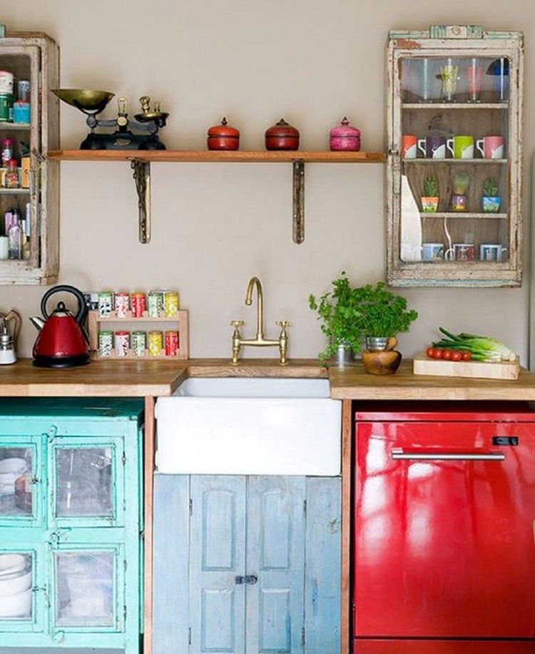Beautiful and Colourfull Kitchen 05