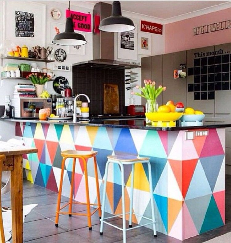 Beautiful and Colourfull Kitchen 06