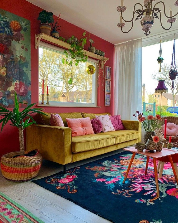 Beautiful and Colourfull Livingroom 10