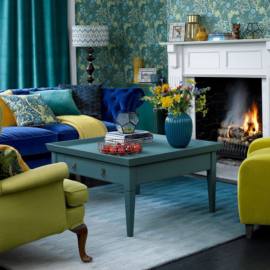 Beautiful and Colourfull Livingroom 12