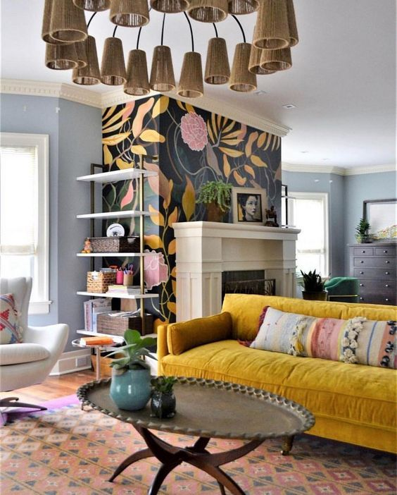 Beautiful and Colourfull Livingroom 19