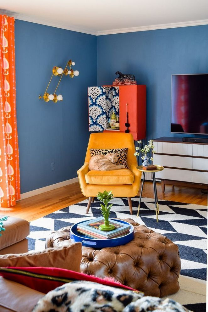 Beautiful and Colourfull Livingroom 23