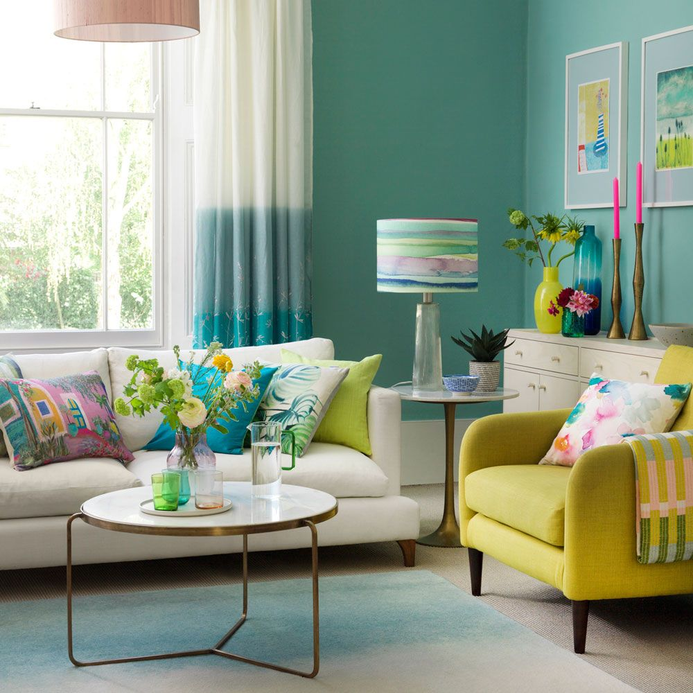 Beautiful and Colourfull Livingroom 41