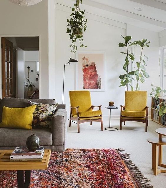 Beautiful and Colourfull Livingroom 43