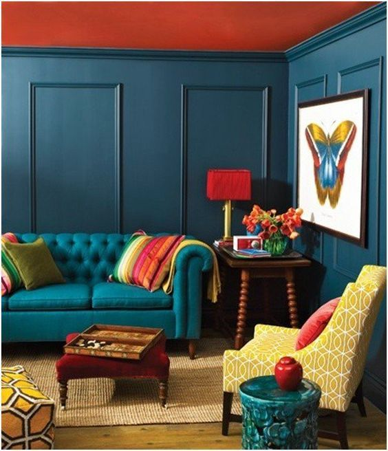 Beautiful and Colourfull Livingroom 7