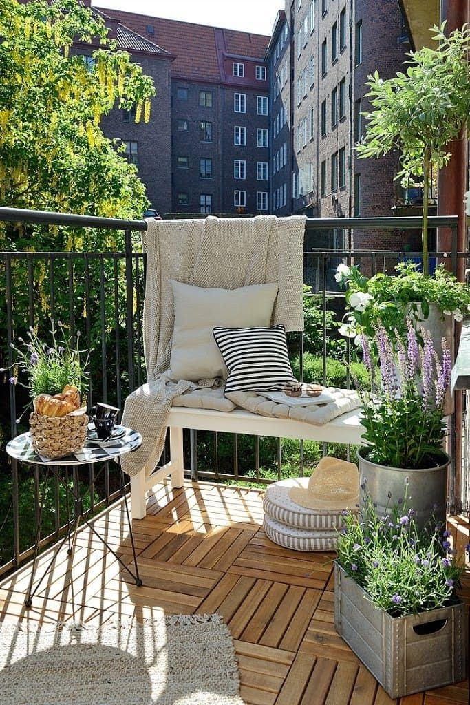 Elegant Balcony Ideas 20