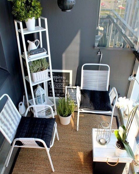 Elegant Balcony Ideas 26