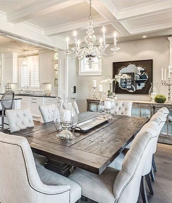 Elegant Diningroom Design Ideas 30
