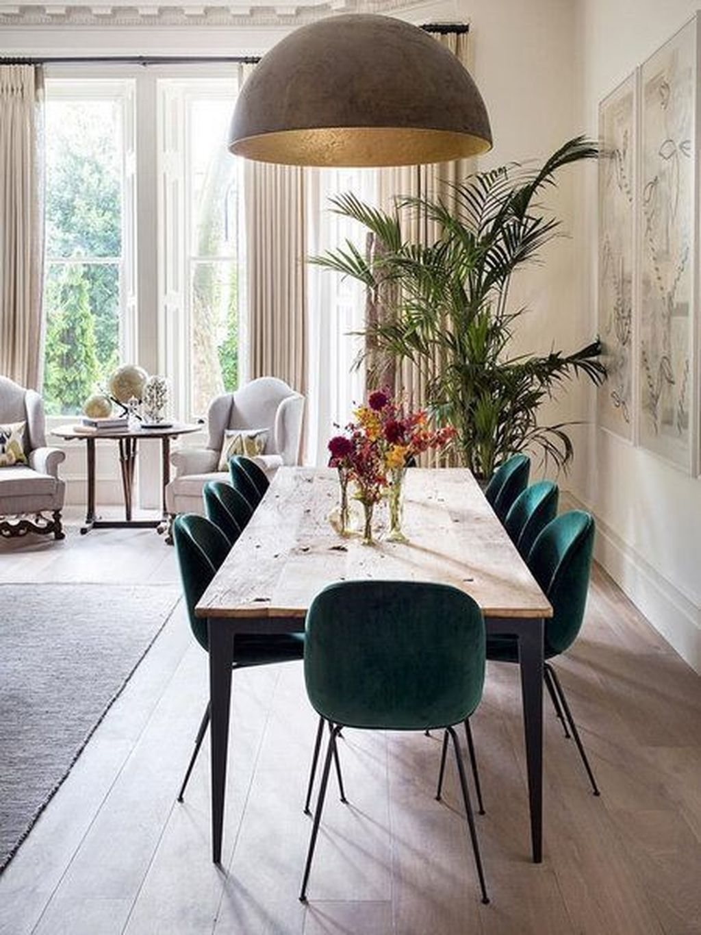 Elegant Diningroom Design Ideas 38