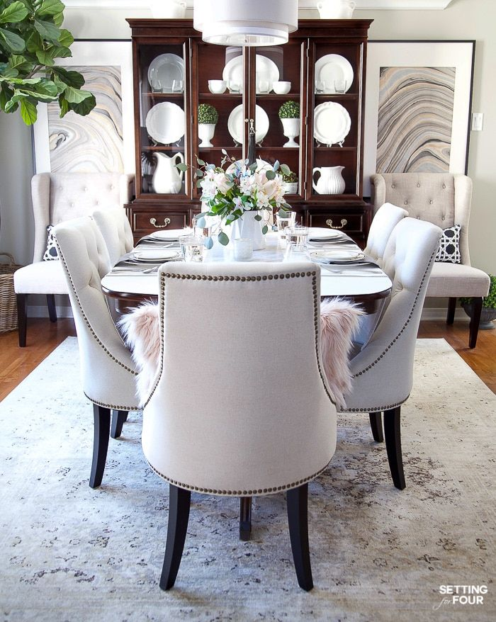 Elegant Diningroom Design Ideas 50