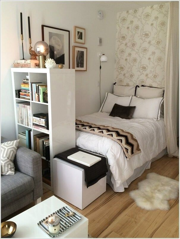 Small Apartment Bedroom Decoration 24
