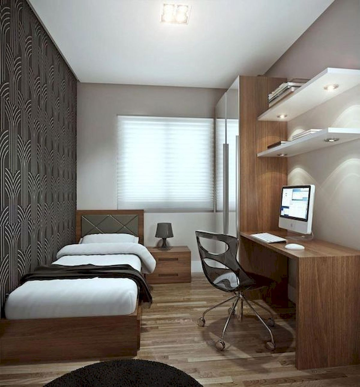 Small Apartment Bedroom Decoration 25