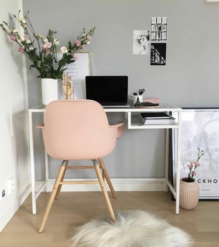Adorable Diy Home Office Decor 1001 Idées Pour Aménager En Gris Perle Les Variantes