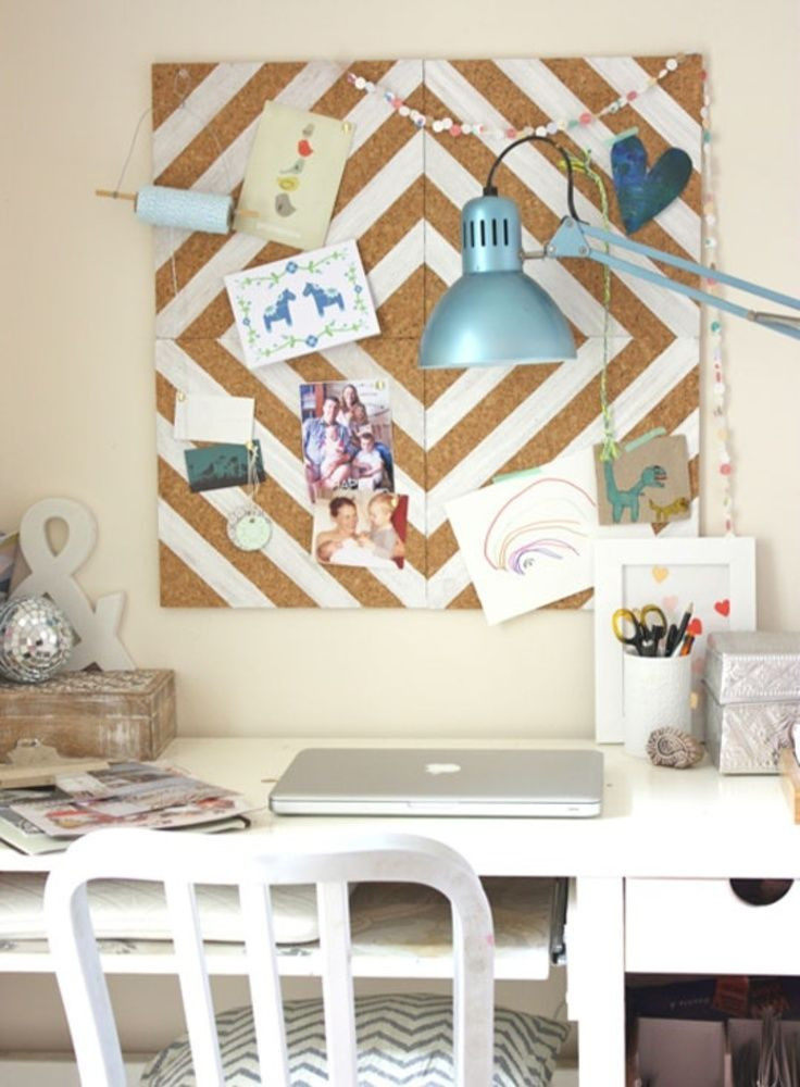 Adorable Diy Home Office Decor 17 Best Ideas About Decorate Corkboard On Pinterest