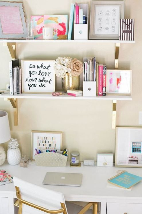 Adorable Diy Home Office Decor 25 Best Ideas About Cute Desk On Pinterest