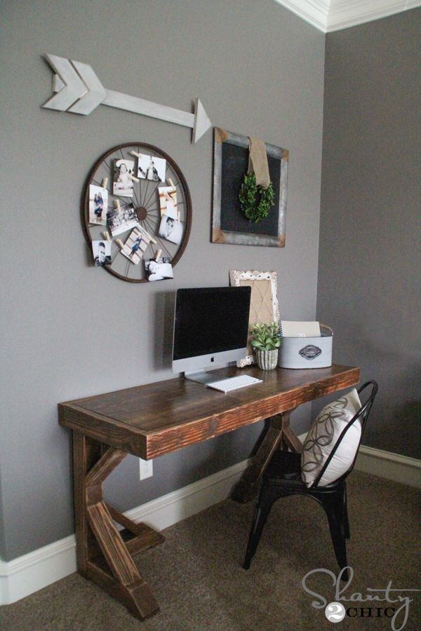 Adorable Diy Home Office Decor 25 Best Ideas About Desk Plans On Pinterest