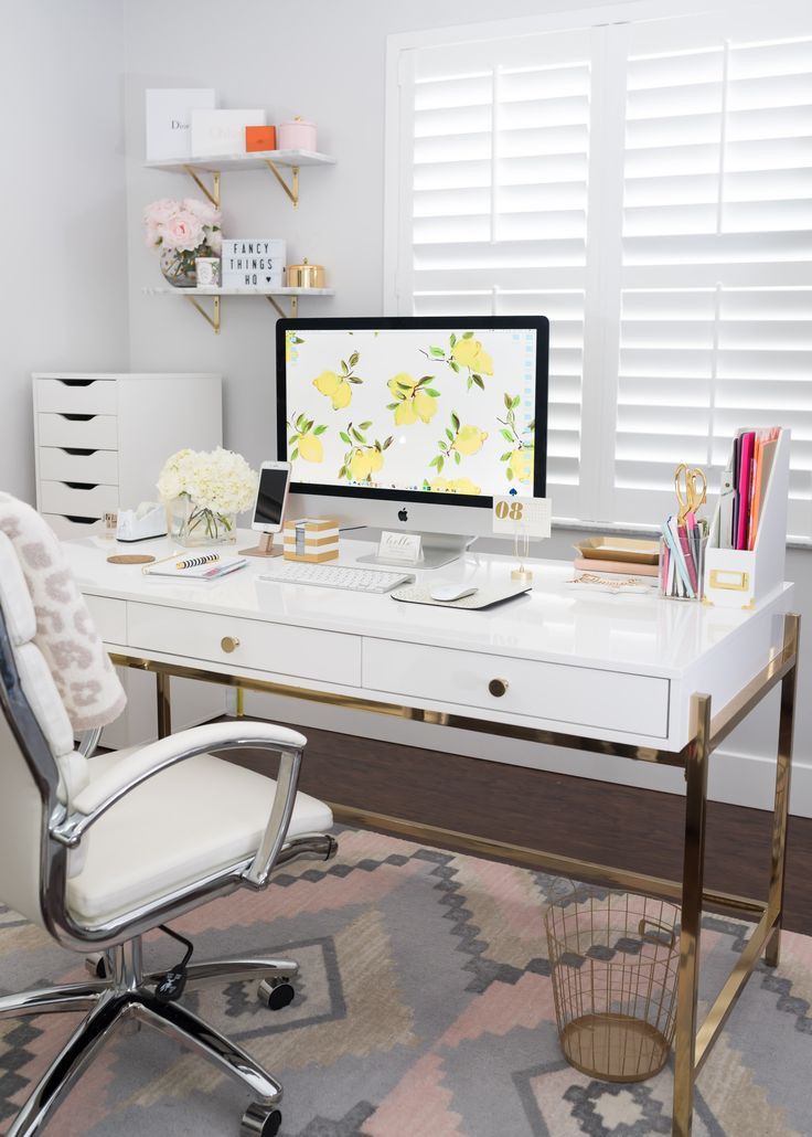 Adorable Diy Home Office Decor Best 25 Cute Office Decor Ideas On Pinterest
