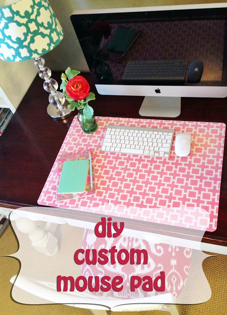 Adorable Diy Home Office Decor Custom Desk Pad A Little Tipsy