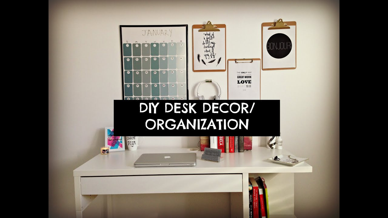 Adorable Diy Home Office Decor Cute Cheap and Easy Diy Desk Decor & organization