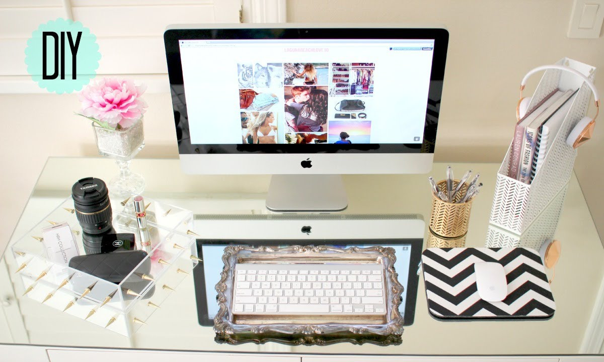 Adorable Diy Home Office Decor Diy Desk Decor Cute Affordable