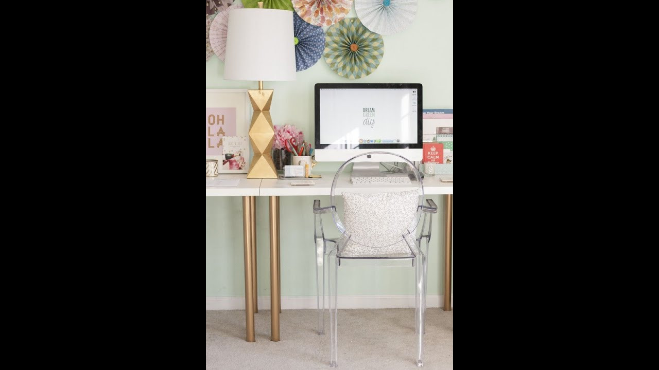 Adorable Diy Home Office Decor Ikea Hack Diy Coffee Table Gold Spray Paint