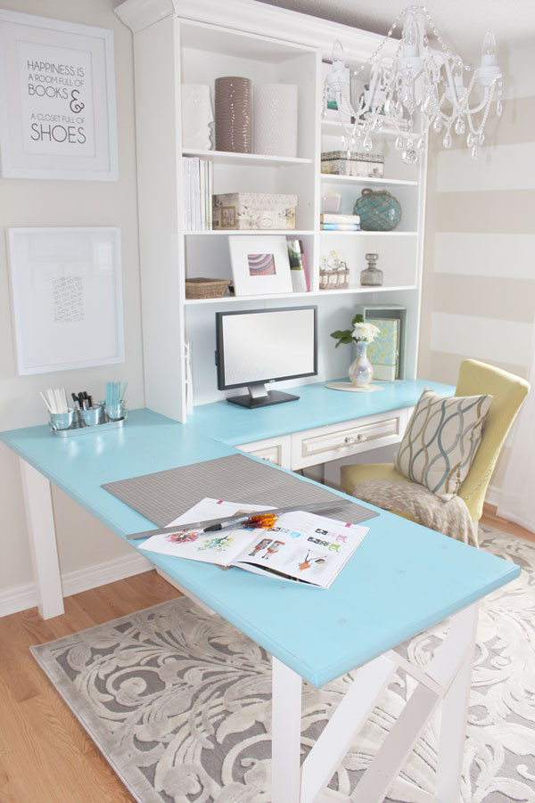 Adorable Diy Home Office Decor Room Decorating before and after Makeovers