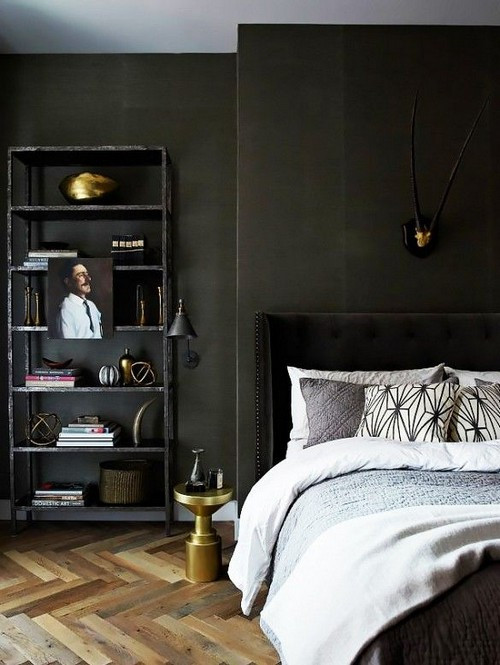 Alluring Bedroom Designs Dark Wall 22 Charcoal Grey Bedrooms Messagenote