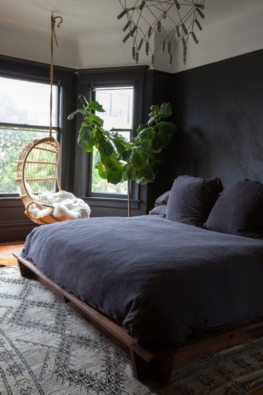 Alluring Bedroom Designs Dark Wall 26 Y Moody Bedroom Designs that Catch An Eye Digsdigs