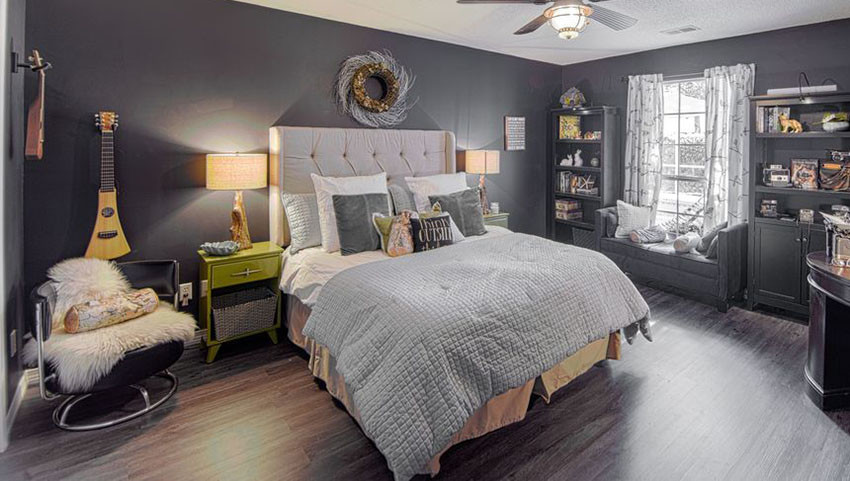 Alluring Bedroom Designs Dark Wall 27 Jaw Dropping Black Bedrooms Design Ideas Designing Idea
