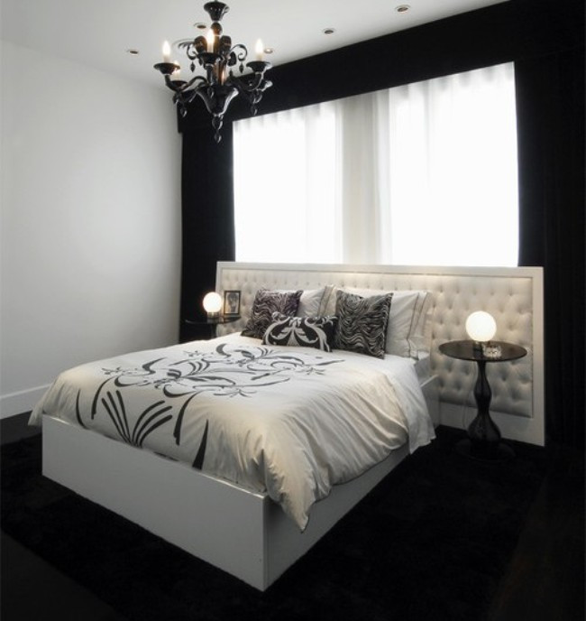 Alluring Bedroom Designs Dark Wall 35 Timeless Black and White Bedrooms that Know How to