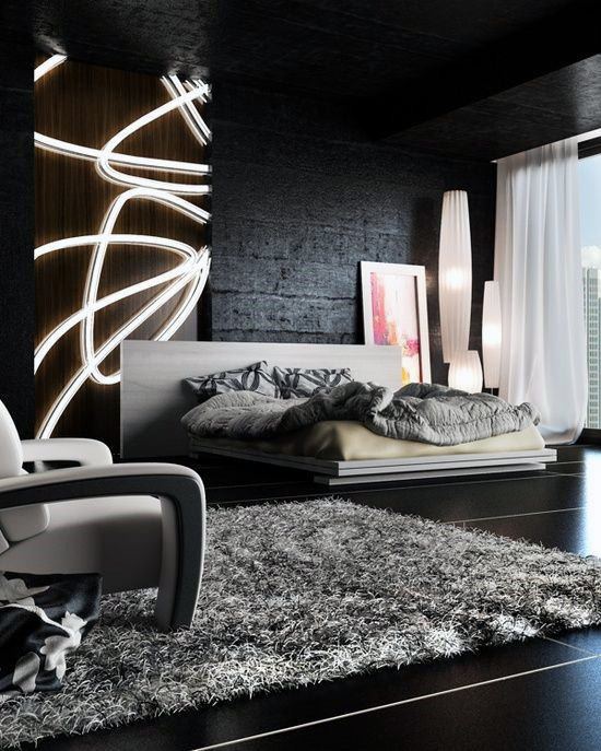 Alluring Bedroom Designs Dark Wall 60 Men S Bedroom Ideas Masculine Interior Design Inspiration