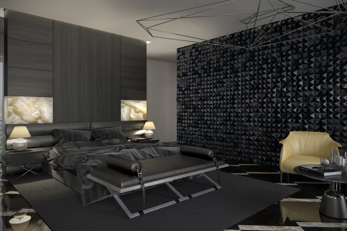 Alluring Bedroom Designs Dark Wall 7 Stylish Bedrooms with Lots Of Detail