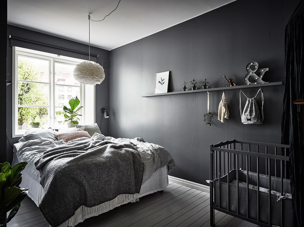 Alluring Bedroom Designs Dark Wall Beautiful Dark Bedroom Coco Lapine Designcoco Lapine Design