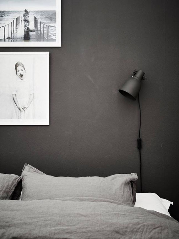 Alluring Bedroom Designs Dark Wall Bedrooms with Black Walls